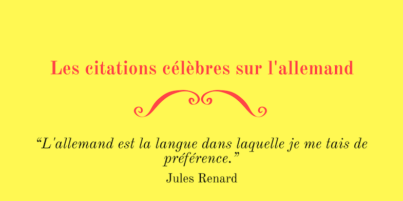 Citations celebres allemand
