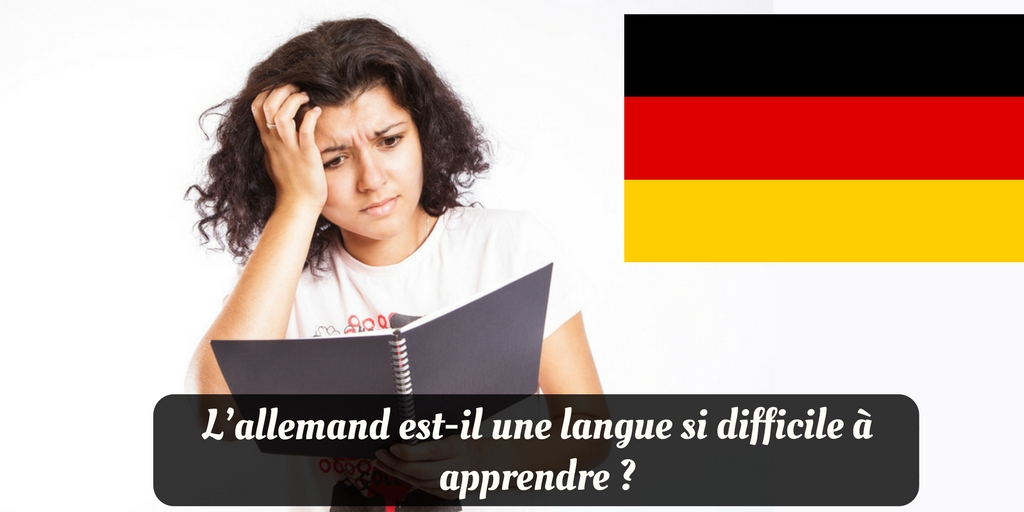 Difficile apprendre allemand