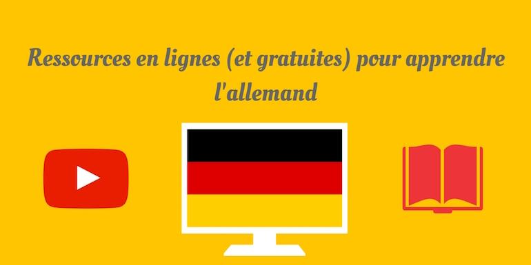 Ressources apprendre l allemand 1