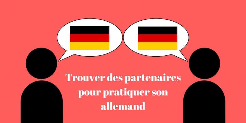 Trouver des partenaires pour pratiquer son allemand